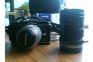 б/у Полупрофессиональные фотоаппараты Olympus Pen EP-3 Kit (14-42mm) Black