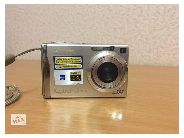Фотоаппарат SONY CYBER-SHOT DSC-W200- объявление о продаже  в Харькове