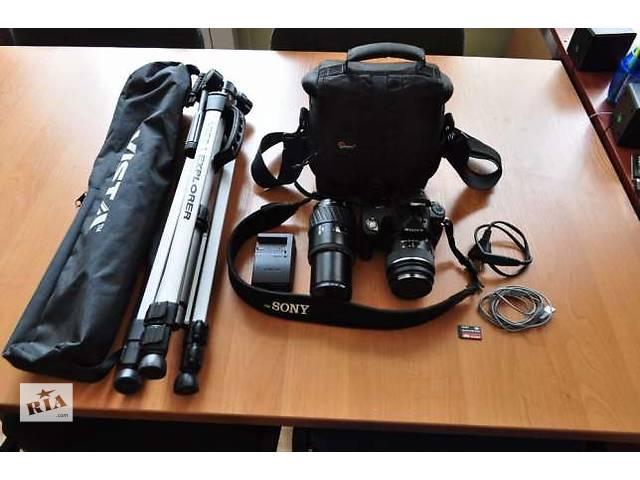 фотоаппарат SONY DSLR-A 290- объявление о продаже  в Приморске