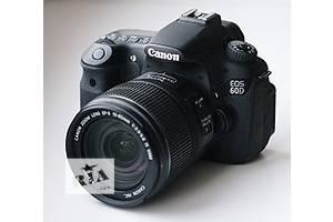 Фотоаппарат Canon EOS 60D Зеркальные фотоаппараты Идеальное б/у