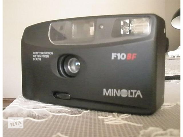 Фотоаппарат  MINOLTA  F10BF- объявление о продаже  в Апостолово