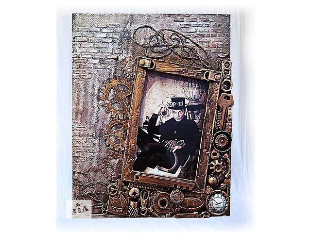 купить бу Фоторамка ручная работа, оригинальный подарок парню на день рождения в Мариуполе (Донецкой обл.)