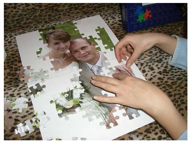 Как сделать с фото пазлы