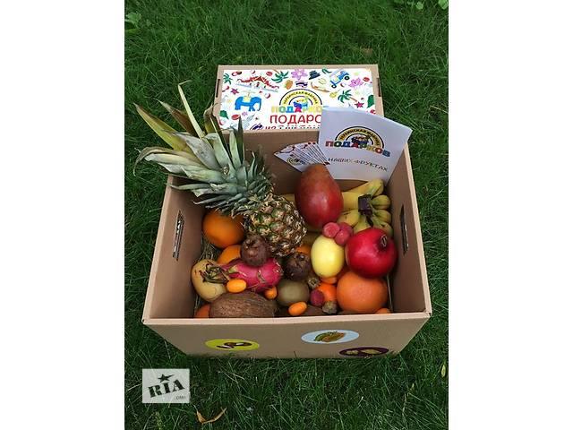 купить бу Фруктовые коробочки со спелыми экзотическими фруктами,Тайланд в Харькове