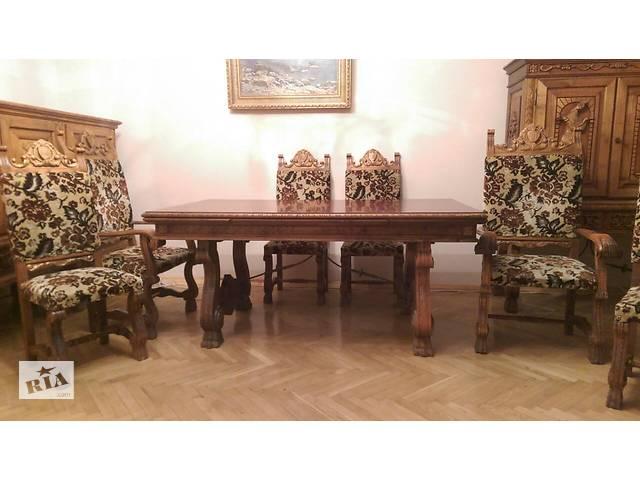 Элитная румынская мебель для гостиной - Испанский Ренессанс Люкс