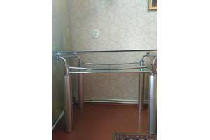 б/у Кухонные столы стеклянные