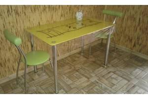 Кухонные столы стеклянные
