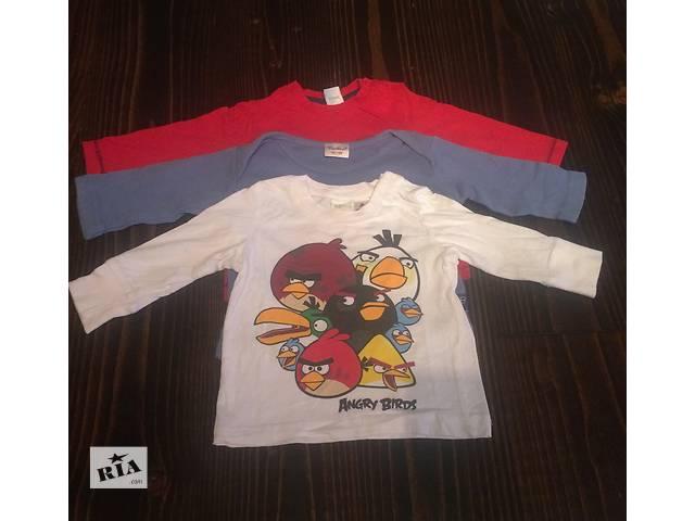 продам футболки с длинным рукавом для мальчика бу в Черновцах