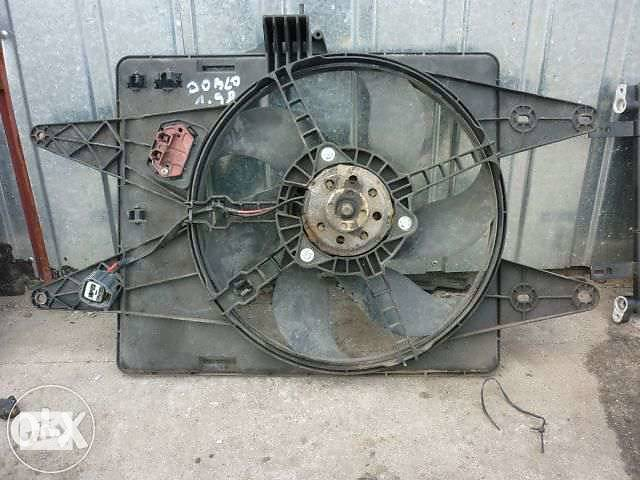 продам фиат добло диффузор радиатор бу в Виннице