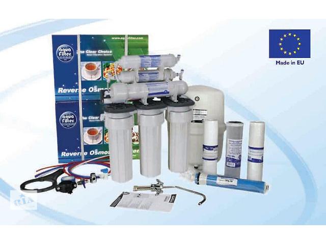 купить бу фильтр для воды Обратный осмос Aquafilter RO6  в Житомире