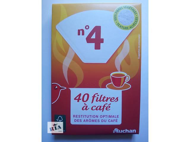 купить бу Фильтры бумажные для кофеварки. Размер №4. в Киеве