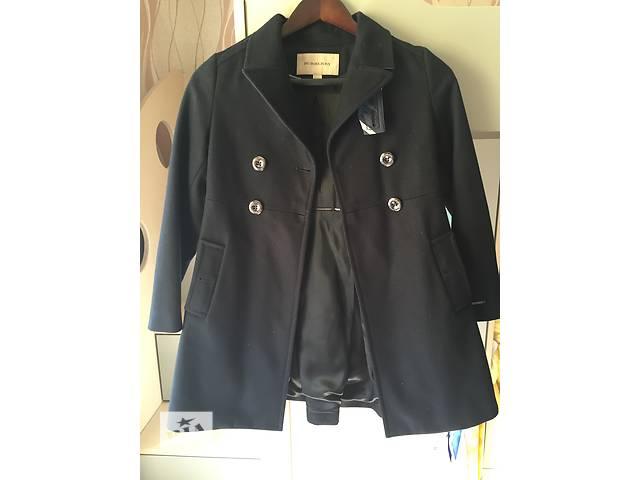 Фирменное шерстяное пальто Burberry оригинал на девочку- объявление о продаже  в Киеве