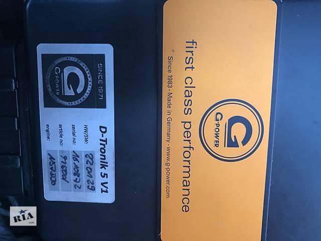 бу Блок увеличения мощности G POWER BMW дизель в Виннице