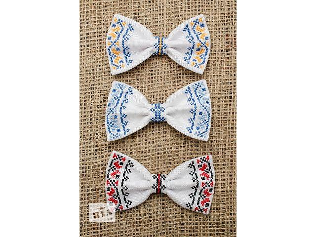 купить бу Галстук - бабочка - вышиванка. Ручная работа в Киеве