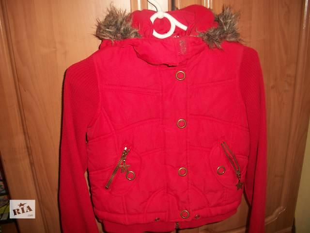 Красивая курточка для девочки 9-10 лет,135-140- объявление о продаже  в Мукачево