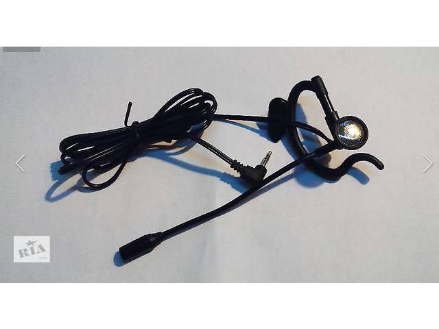 продам Гарнитура микрофон на штанге к радиостанции. Штекер 2.5 мм. бу в Кременчуге