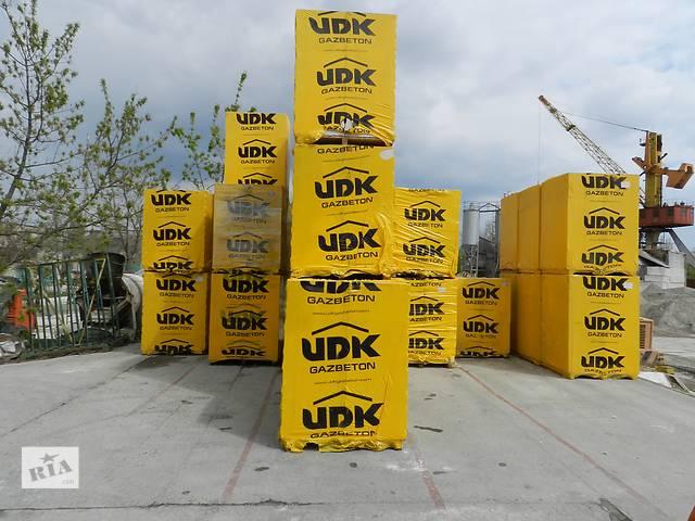 продам газобетон ЮДК (UDK) бу в Одессе