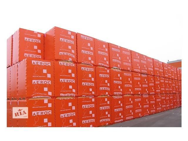 Газобетонні блоки Стоунлайт і Аерок- объявление о продаже  в Кременце