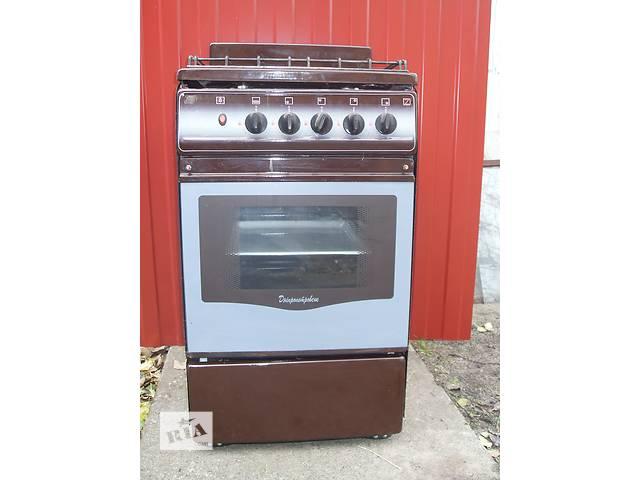 газовая плита на четыре конфорки с духовкой- объявление о продаже  в Бородянке
