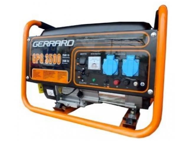 продам Генератор бензиновый GERRARD GPG3500E (2.5 кВт электростарт) бу в Кропивницком (Кировоград)