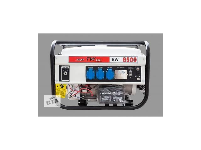 продам Генератор Germany KraftWele 3,5 кВт, электростартер, однофазный, c бензиновым 4-х тактным двигателем Honda бу в Киеве