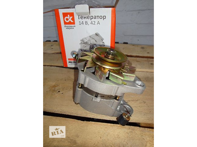 Генератор Ваз 2101, 2102, ваз 2103, ваз 2104, 2105, 2106, 2107, Москвич 2141- объявление о продаже  в Полтаве