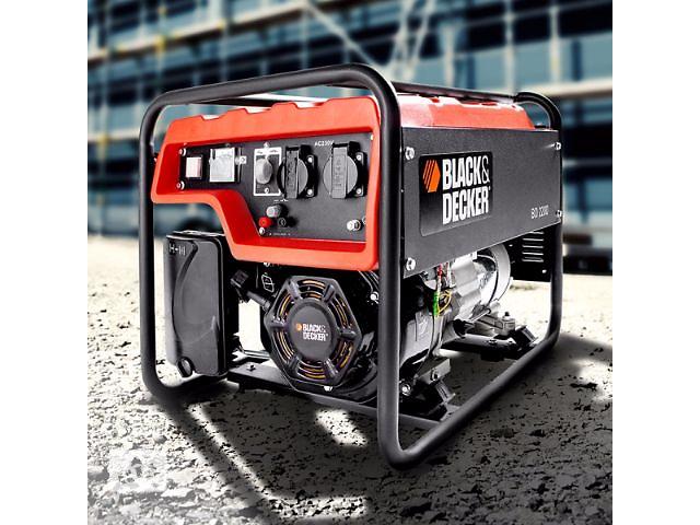 Генератор бензиновый Black & Dekker 2200 распродажа со склада- объявление о продаже  в Одессе