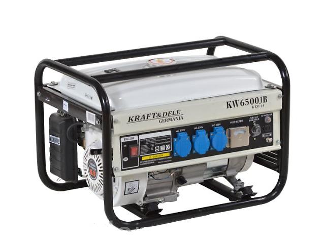бу Генератор бензиновый Kraft & Dele KD118 KW6500 в Тернополе