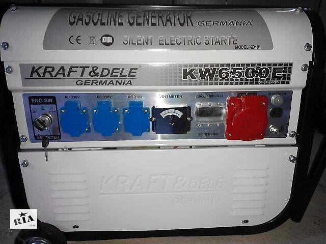 продам Генератор бензиновый Kraft Dele KW6500E KD101 (3,8 кВт) бу в Николаеве