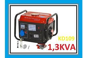 Генератор бензиновый Kraftdele KD109 2KM 1200 W новый. Есть в наличии! Доставка по Украине 1-3дня!!