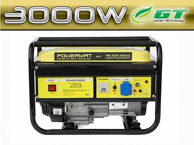 продам Генератор бензиновый POWERMAT 3 KVA бу в Жовкве