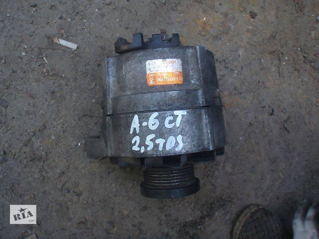 купить бу Генератор Audi A6, 2.5tds, 1994,  046903015D в Львове