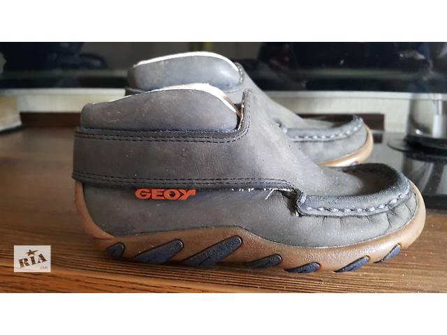 продам Geox ботинки мальчик бу в Киеве