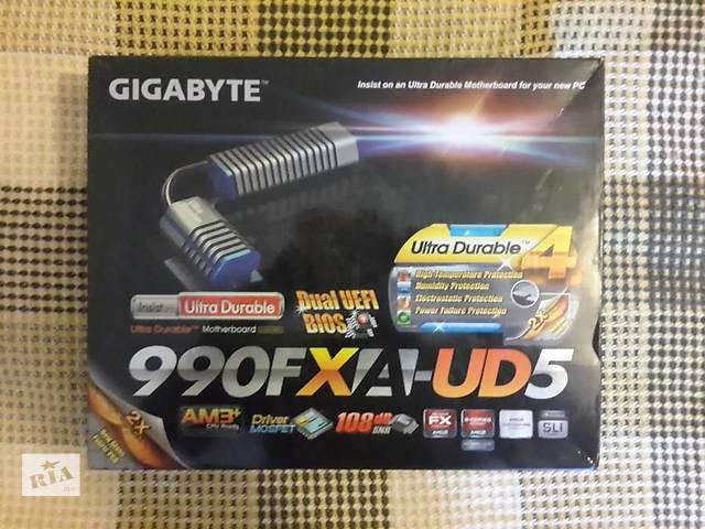 продам Gigabyte GA-990FXA-UD5 бу в Киеве