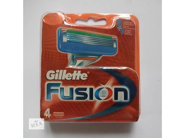 купить бу Gillette Fusion - 4шт в Львове