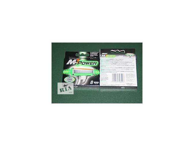 купить бу Gillette Mach3 Power 8 's (восемь картриджей в упаковке)  в Украине