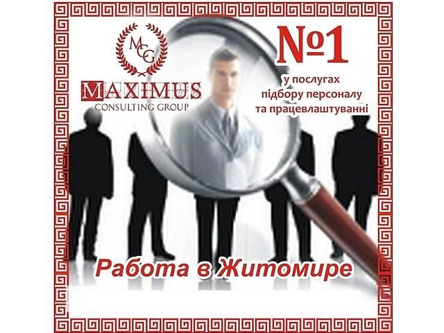 бу Главный бухгалтер на производственное предприятие в Житомире