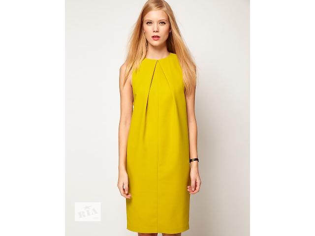 купить бу Горчичное свободное женское платье в Киеве