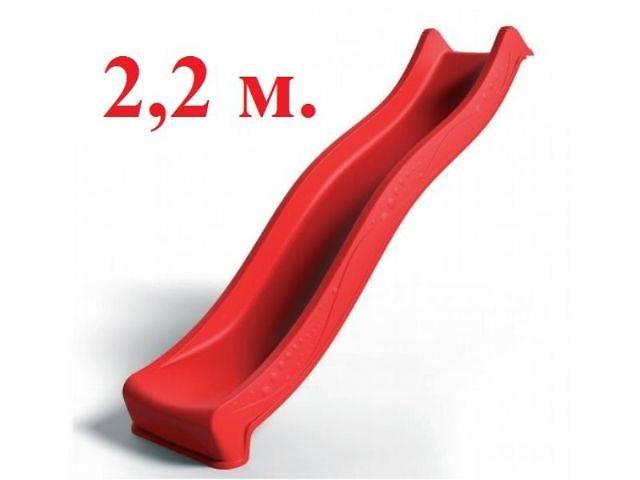 бу Горка детская Yulvo пластиковая скользкая спуск 2,2 м. Есть в наличии. в Тернополе