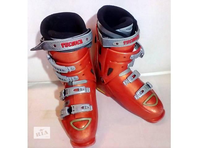продам Горнолыжные ботинки Tecnica 42 р (27см) бу в Мукачево