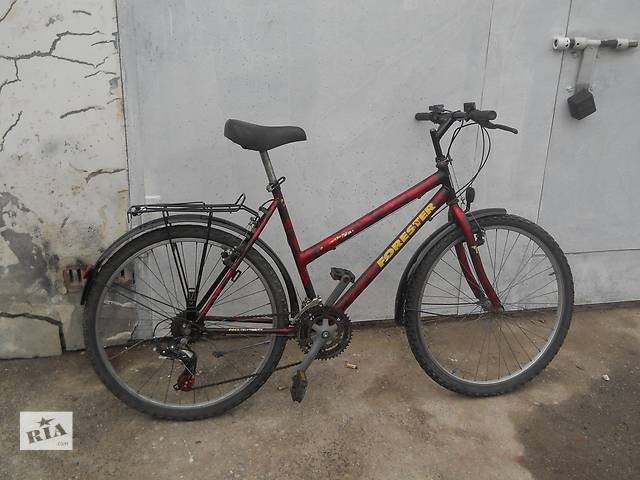 Горный велосипед Forester 18 скоростей. 26 калеса. система shimano- объявление о продаже  в Хмельницком