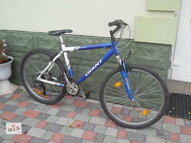 купить бу Горный велосипед Giant 26 колеса. Алюминиевая рама  в Хмельницком