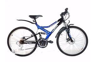 Горный двухподвесный велосипед Azimut Redhawk 26 D