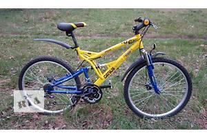 Горный двухподвесный велосипед Azimut Rock 24