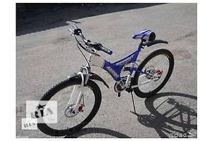 Горный двухподвесный велосипед Azimut Sprint-24 D. Дисковый тормоза, Shimano