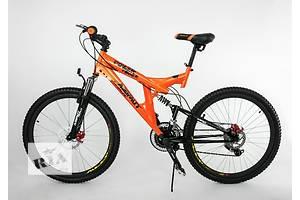 Горный подростковый двухподвесный велосипед Azimut Power 24