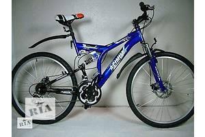 Горный взрослый двухподвесный велосипед Azimut Fusion 26 GD
