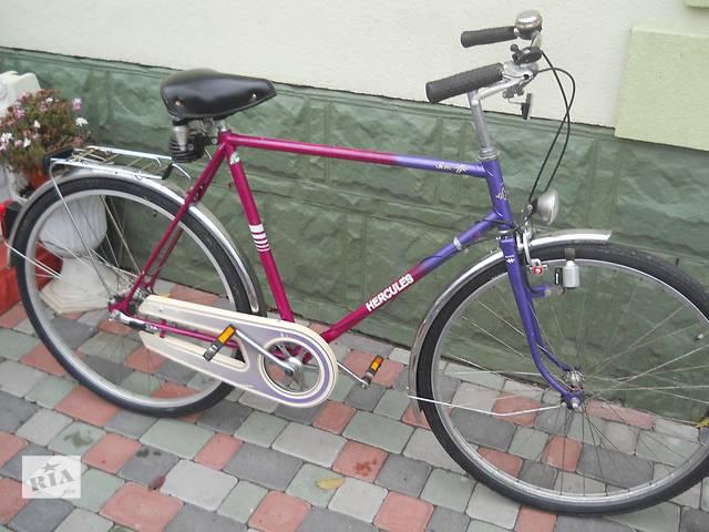 Городской велосипед Hercyles 28 колеса. 3 скорости на планитарке.- объявление о продаже  в Хмельницком