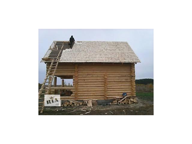 купить бу Готовая баня из сруба с мансардой 70 м2+доставка+мебель –  в Украине