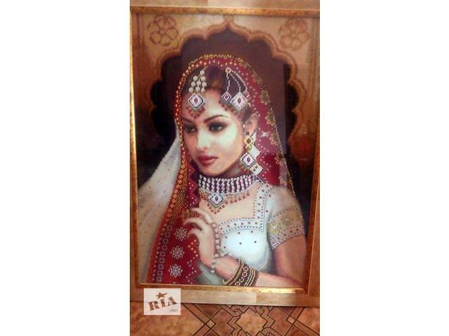 """Готовая картина  в технике алмазная вышивка """" Индианка""""- объявление о продаже  в Кременчуге"""